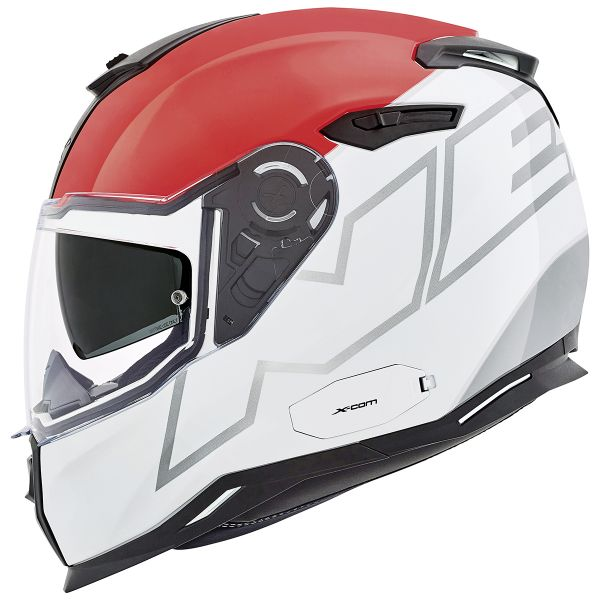 Casque Integral Nexx SX.100 Orion White Red Grey