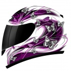 Casque Integral MT Thunder Butterfly Violet