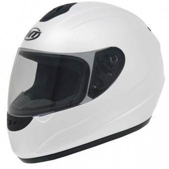 Casque Integral MT Thunder Solid Blanc