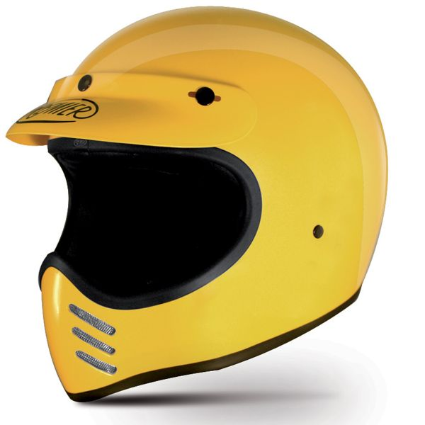 Casque Integral Premier Trophy MX Yellow