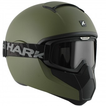 Casque Integral Shark Vancore Blank Mat GMA