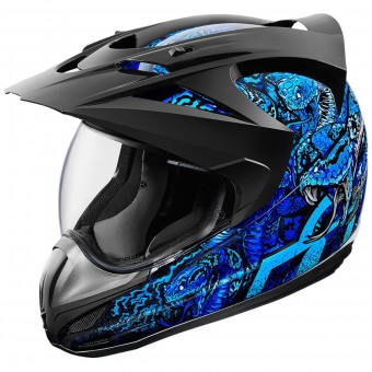 Casque Integral ICON Variant Cottonmouth Blue