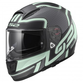 Casque Integral LS2 Vector Orion Matt Black Light FF397