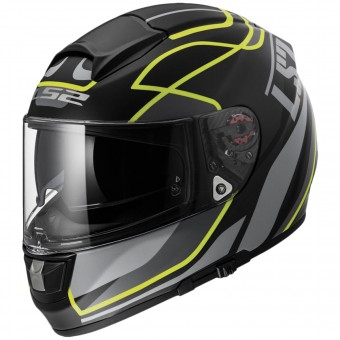 Casque Integral LS2 Vector Vantage Matt Hi-Vis Yellow FF397