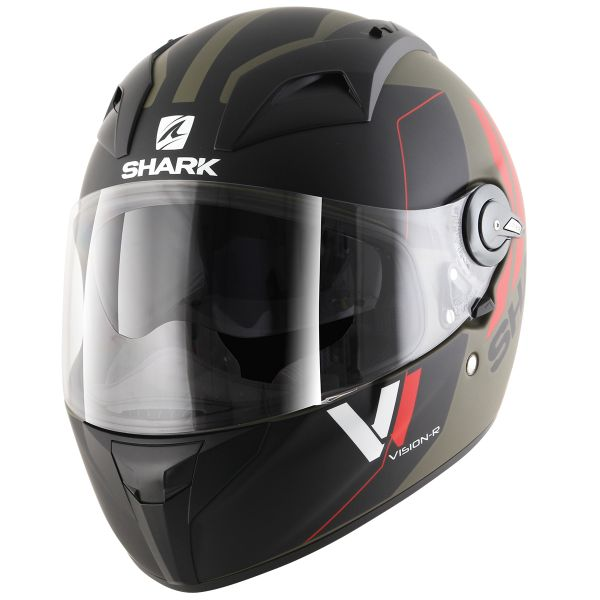 Casque Integral Shark Vision-R ST Serie 2 Cartney Mat GKR