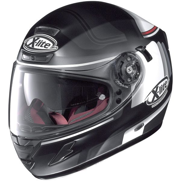 Casque Integral X-lite X-702 GT Ofenpass Flat Black 45