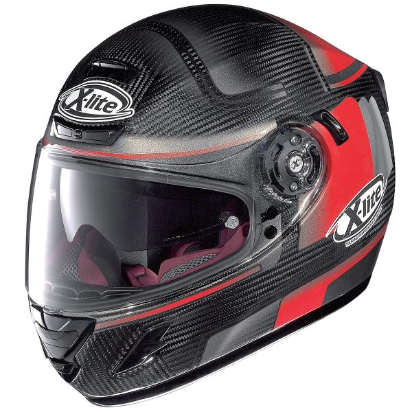Casque Integral X-lite X-702 GT Ultra Carbon Ofenpass Red 4
