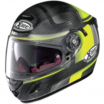 Casque Integral X-lite X-702 GT Ultra Carbon Ofenpass Yellow 5