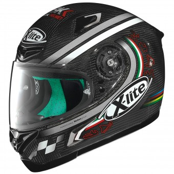 Casque Integral X-lite X-802RR Ultra Carbon SBK 10