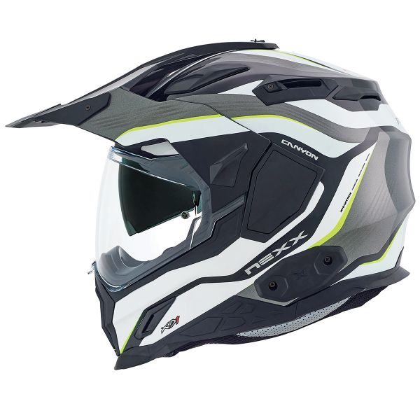 Casque Integral Nexx X.D1 Canyon Neon Yellow