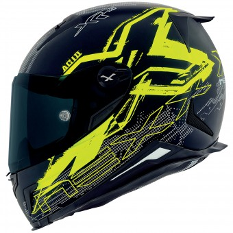 Casque Integral Nexx X.R2 Acid Neon Yellow Mat