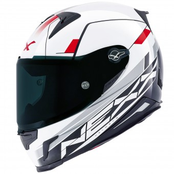 Casque Integral Nexx X.R2 Fuel White Red
