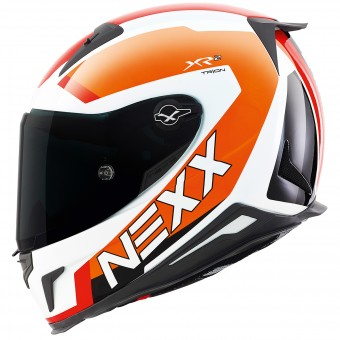 Casque Integral Nexx X.R2 Trion Blanc Orange