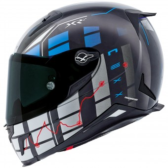 Casque Integral Nexx X.R2 Virus Blue