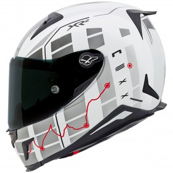 Casque Integral Nexx X.R2 Virus White