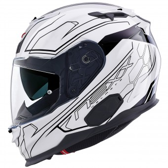 Casque Integral Nexx X.T1 Lotus Blanc