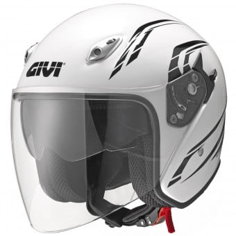 Casque Jet Givi 20.6 Fiber-J2 Plus White