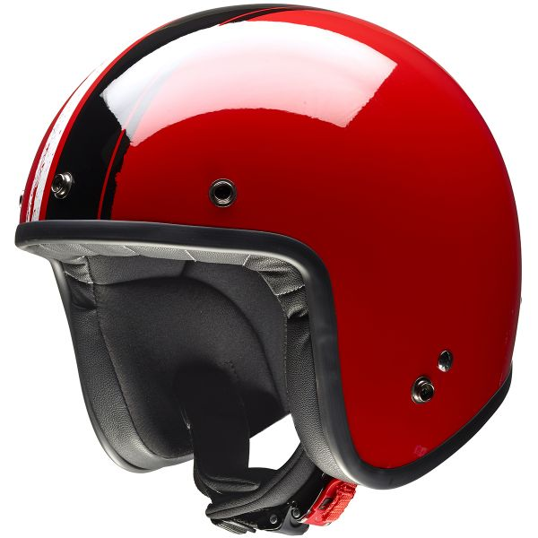 Casque Jet Givi 20.7 Oldster Red Black