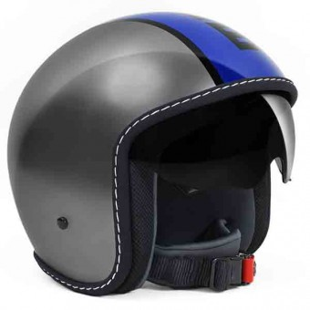 Casque Jet Momo Design Blade Grey Blue