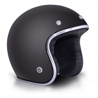 Casque Jet GPA Carbon Legend Noir Mat