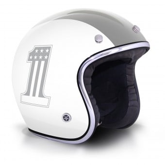 Casque Jet GPA Carbon Legend One Blanc