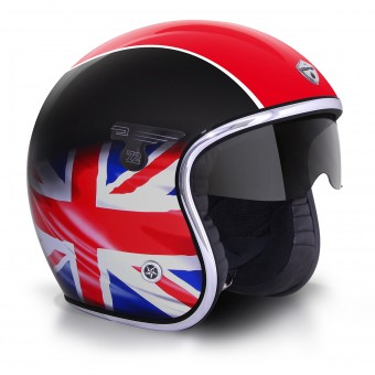 Casque Jet GPA Carbon Solar One Union Jack