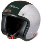 Casque Jet Airborn Steve AB 35 Glitter Silver