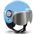 Casque moto GPA Como 72'S Bleu Azur