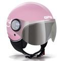 Casque moto GPA Como 72'S Rose Pastel