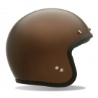 Casque Jet Bell Custom 500 Matte Brown