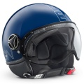 Casque moto Momo Design FGTR Glam Bleu