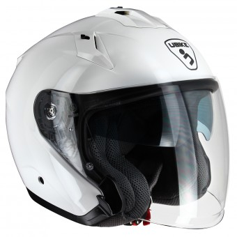 Casque Jet UBIKE Force Glossy White