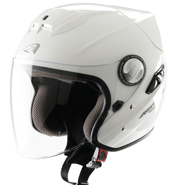 Casque Jet Astone Lead Blanc