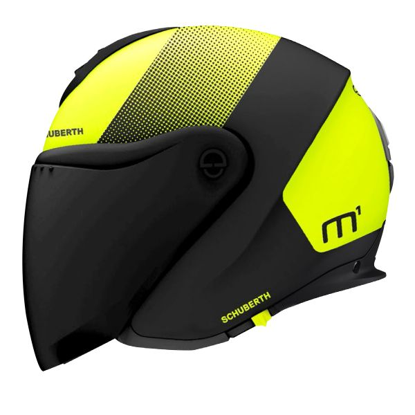 Casque Jet Schuberth M1 Resonance Yellow