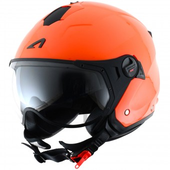 Casque Jet Astone Minijet Sport Orange KTM