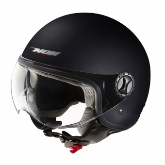 Casque Jet NOX N609 Matt Black