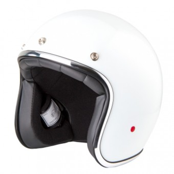 Casque Jet Stormer Pearl Classic White