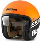 Casque Jet Blauer Pilot 1.1 Matt Orange Black