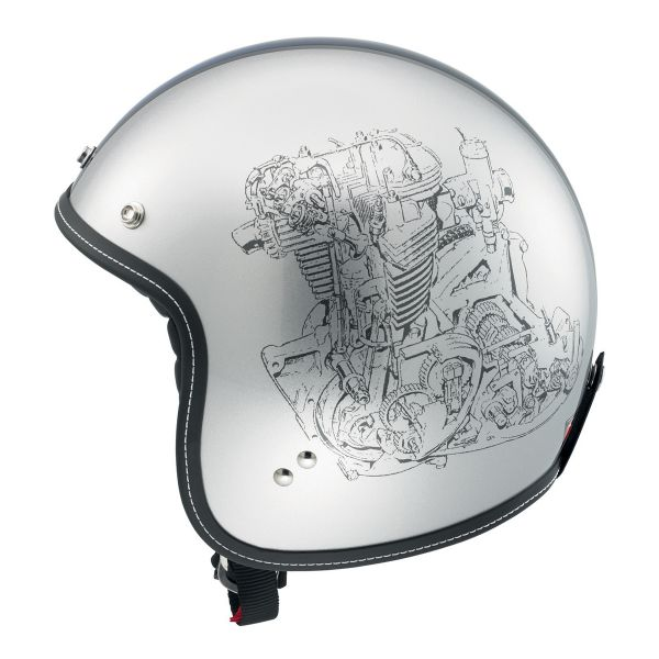 Casque Jet AGV RP60 Multi Engine Grey