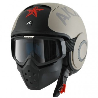 Casque Jet Shark Drak Soyouz Mat EAR