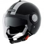 Casque Jet Caberg Riviera V2+ Legend Black White