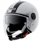 Casque Jet Caberg Riviera V2+ Legend White Black