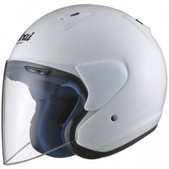 Casque Jet Arai SZ-F Diamond White