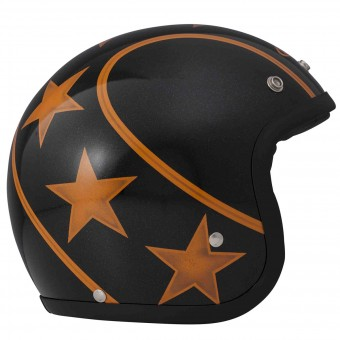 Casque Jet Dmd Stunt Orange