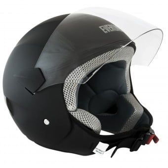 Casque Jet Everone Urbanever Matt Black