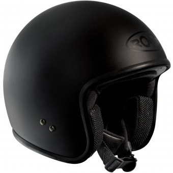Casque Jet Roof Vintage Matt Black