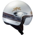 Casque moto Roof Abo Blanc Nacre