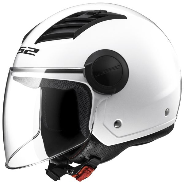 Casque Jet LS2 Airflow White Long OF562