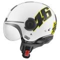 Casque moto AGV Bali Copter Top Vale 46 White