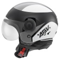 Casque moto AGV Bali Copter Visual Black Grey